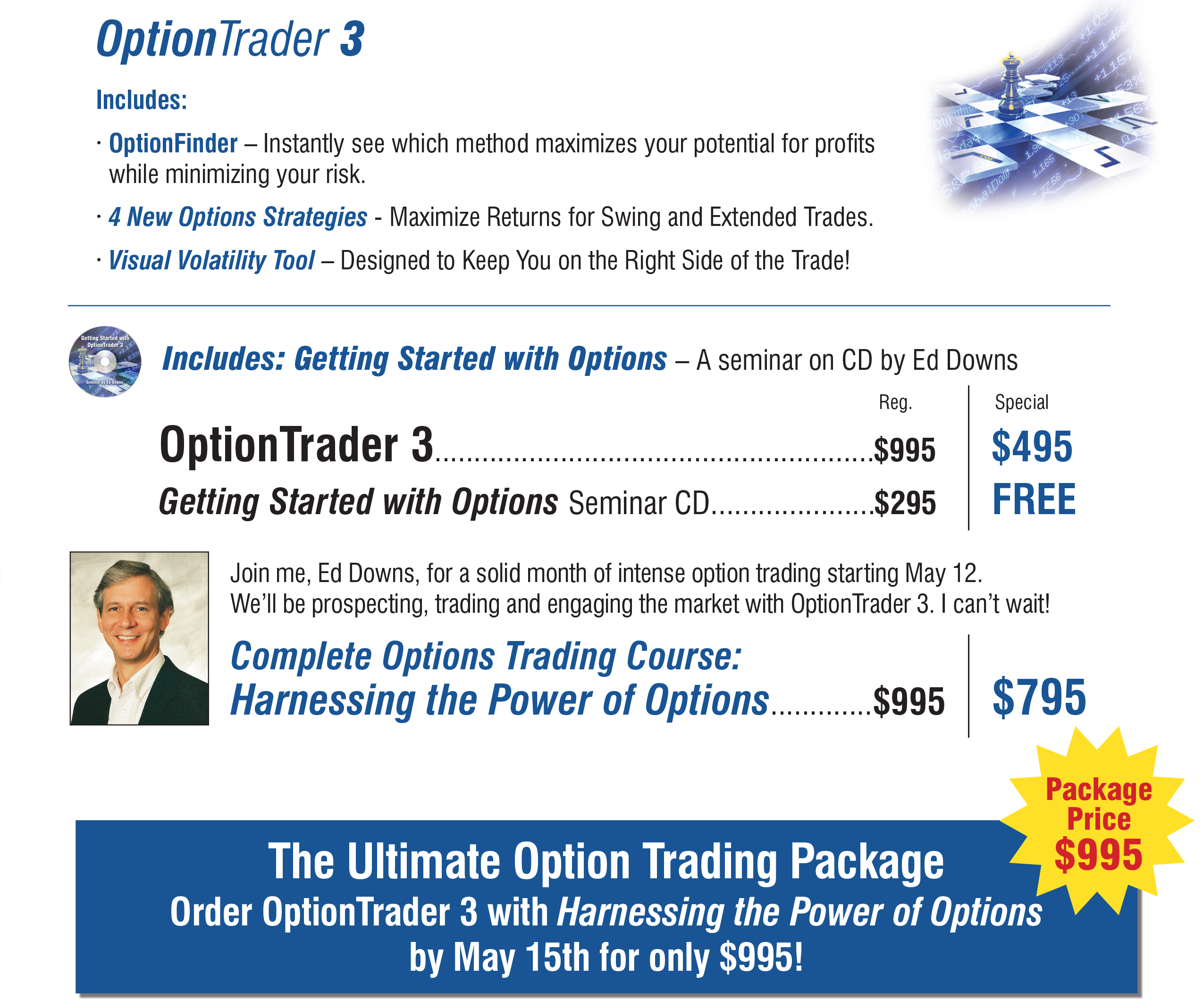 Option trading subscriptions